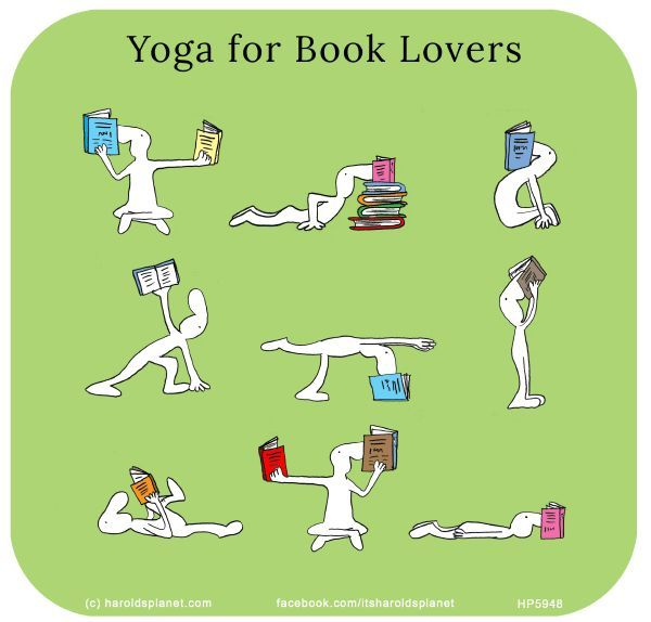 Yoga for Booklovers