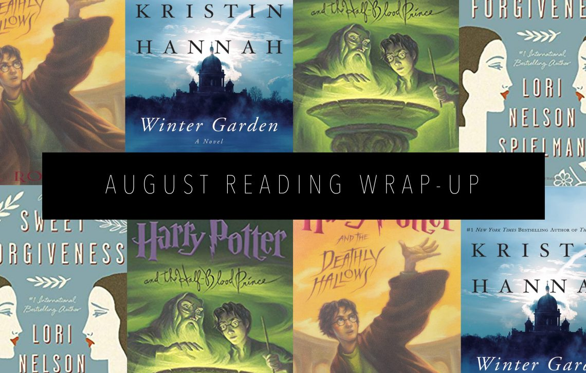 AUGUST READING WRAP UP Featured Image