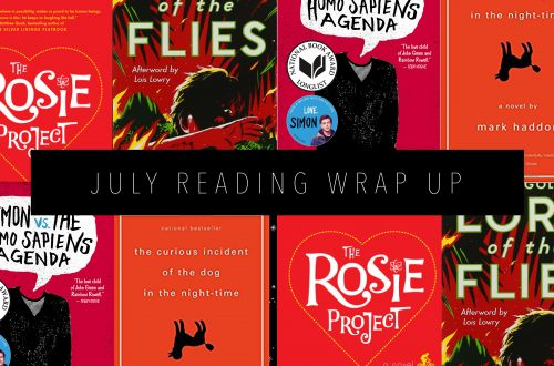 JULY READING WRAP UP