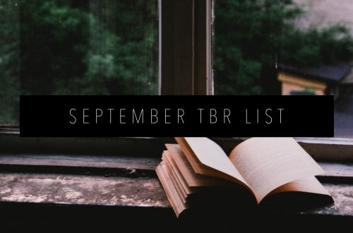 SEPTEMBER TBR LIST Featured Image