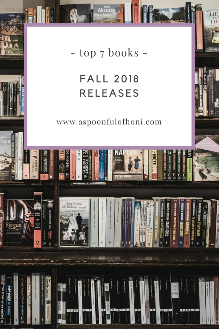 fall 2018 book releases pinterest graphic