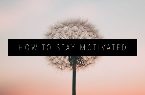 how to stay motivated Featured Image
