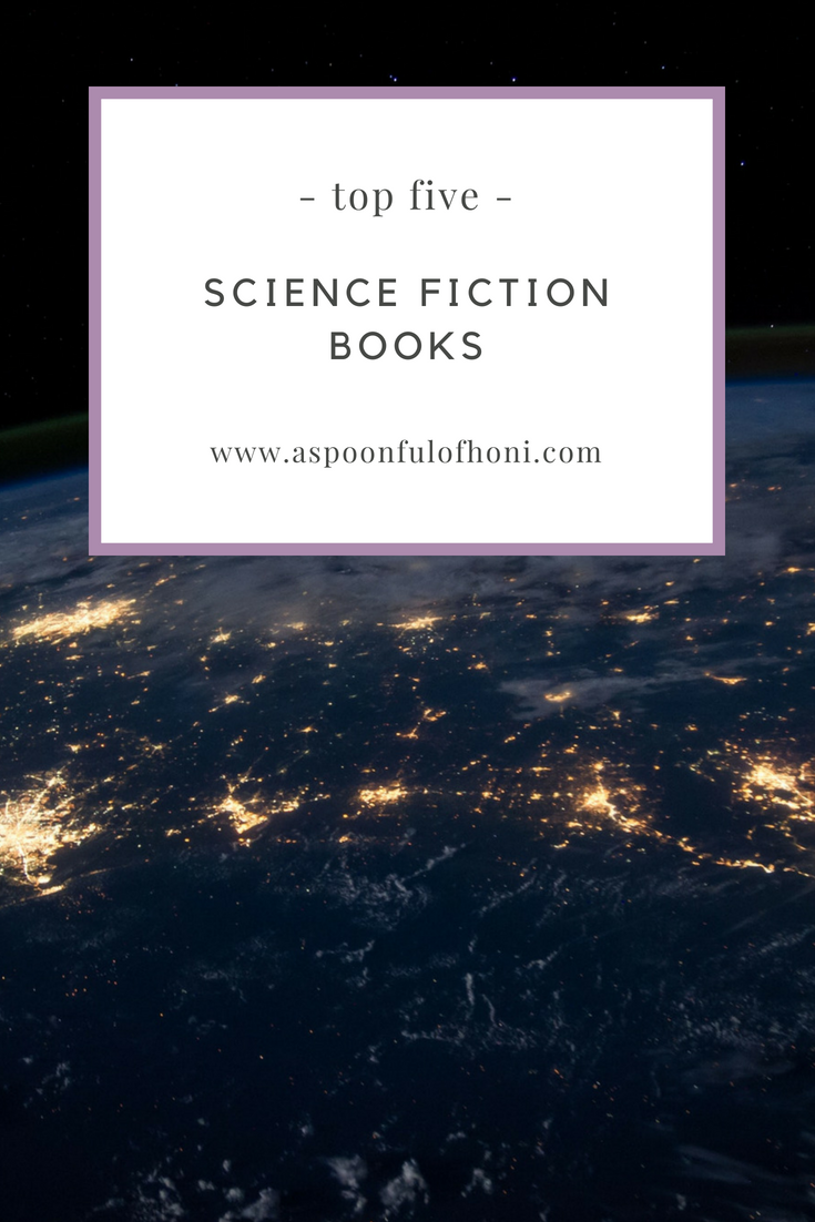 science fiction books pinterest graphic