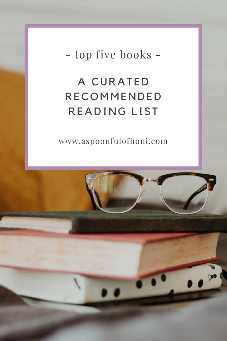 recommended reading pinterest graphic