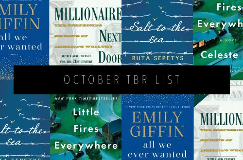 OCTOBER TBR LIST Featured Image