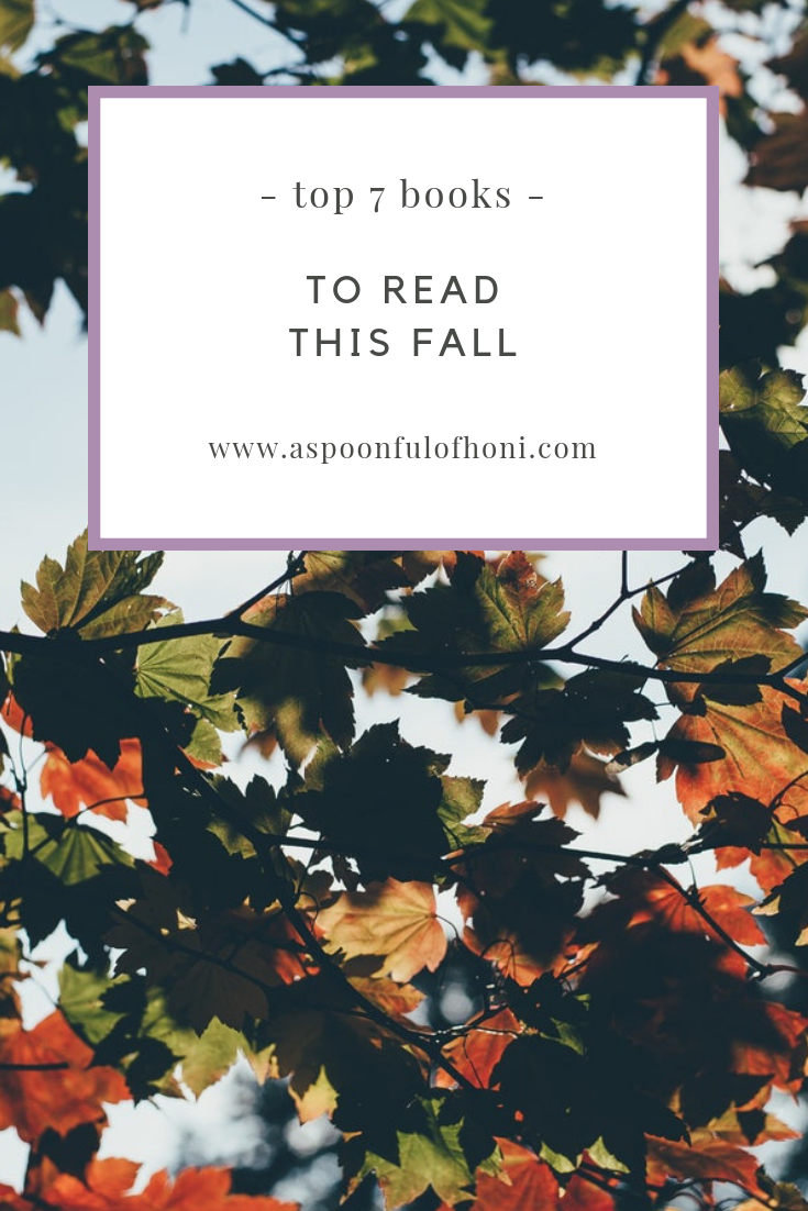books to read this fall pinterest graphic