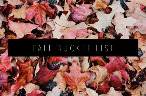 fall bucket list Featured Image