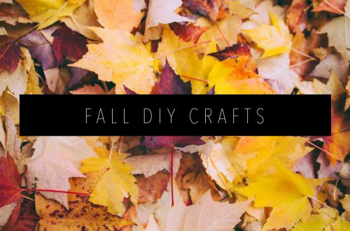 FALL DIY CRAFTS Featured Image