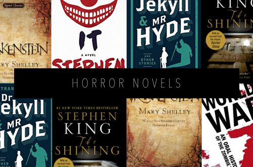 HORROR NOVELS Featured Image