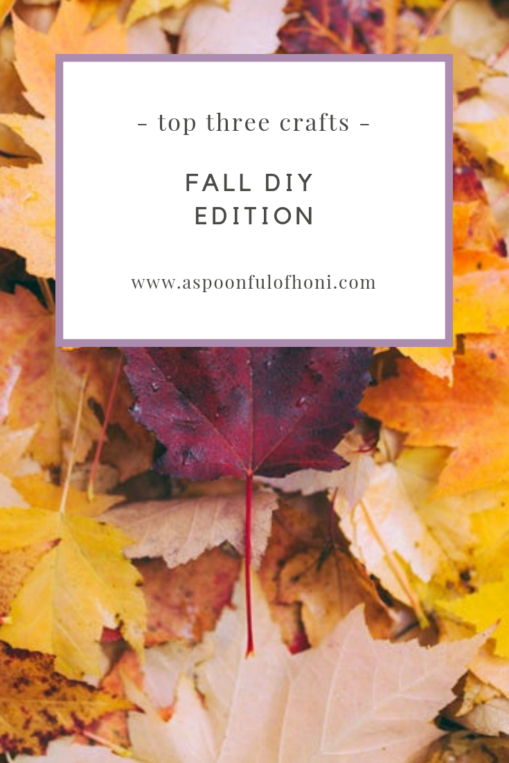 fall diy crafts pinterest graphic