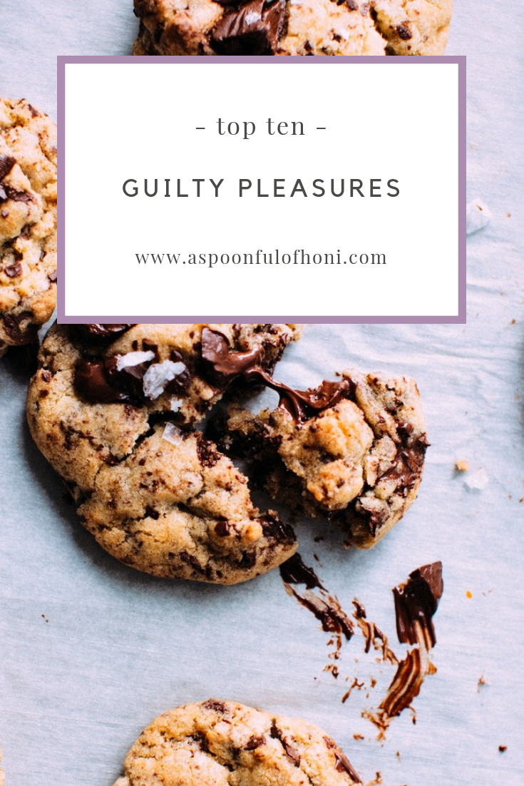 guilty pleasures pinterest image
