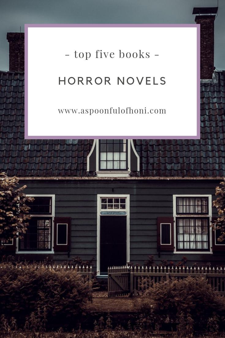 horror novels pinterest graphic