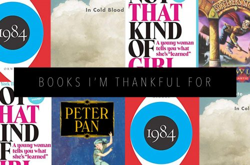 BOOKS I'M THANKFUL FOR Featured Image