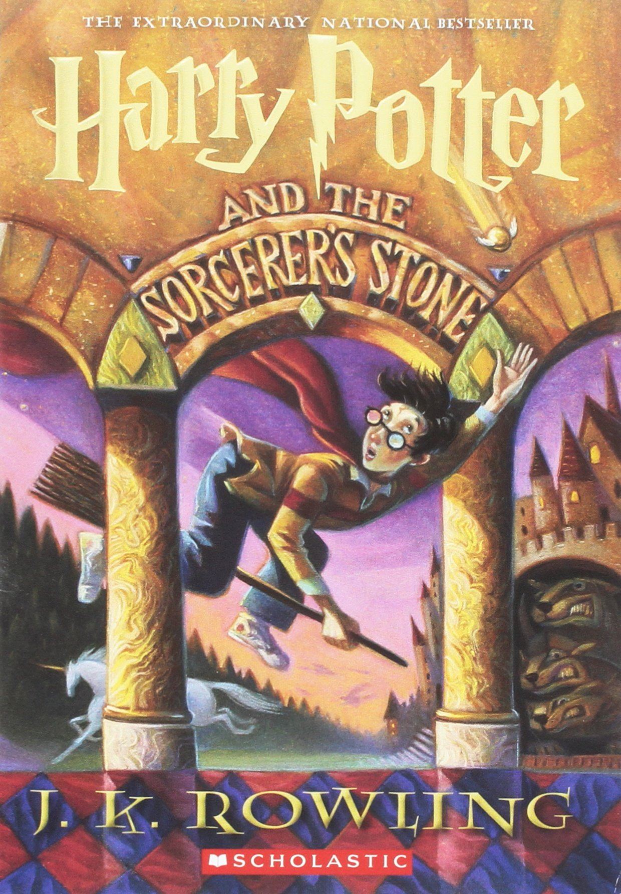 Harry Potter and the Sorcerer's Stone books i'm thankful for