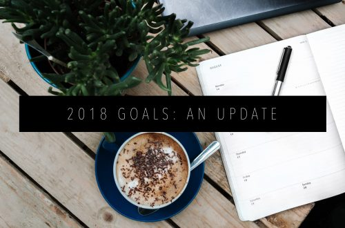 2018 GOALS AN UPDATE FEATURED IMAGE