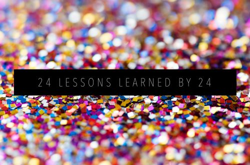 24 LESSONS LEARNED BY 24 Featured Image
