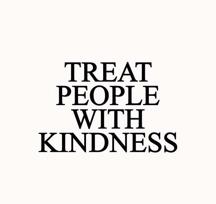 treat people with kindness 24 lessons before year 24