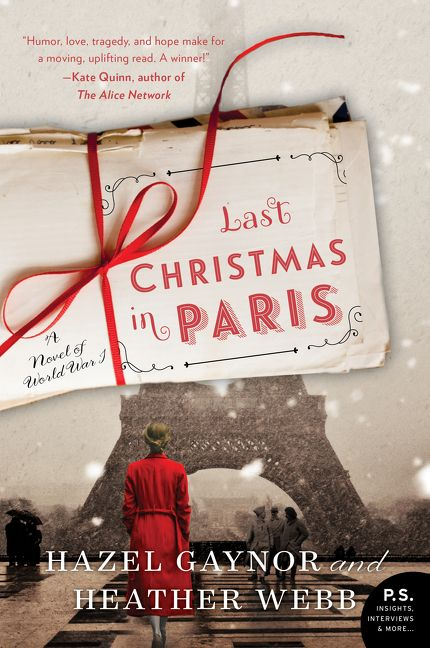 Last Christmas in Paris books to get in the christmas spirit