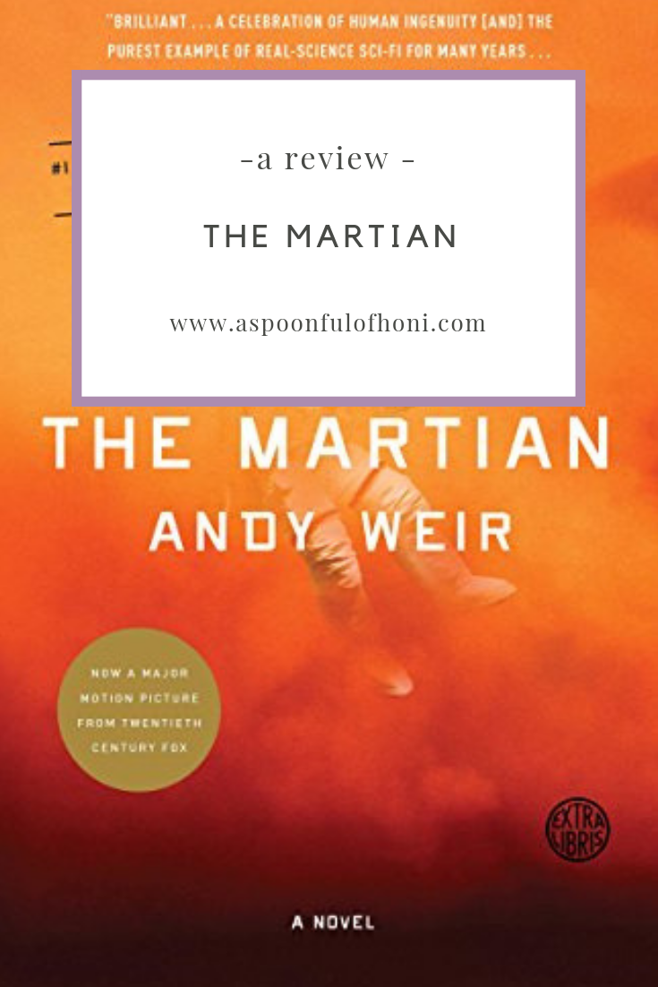 The Martian A Review Pinterest Graphic