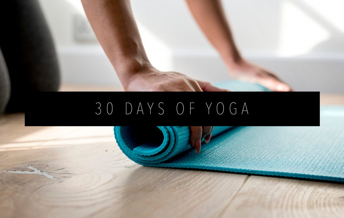 3O Days of Yoga Featured Image