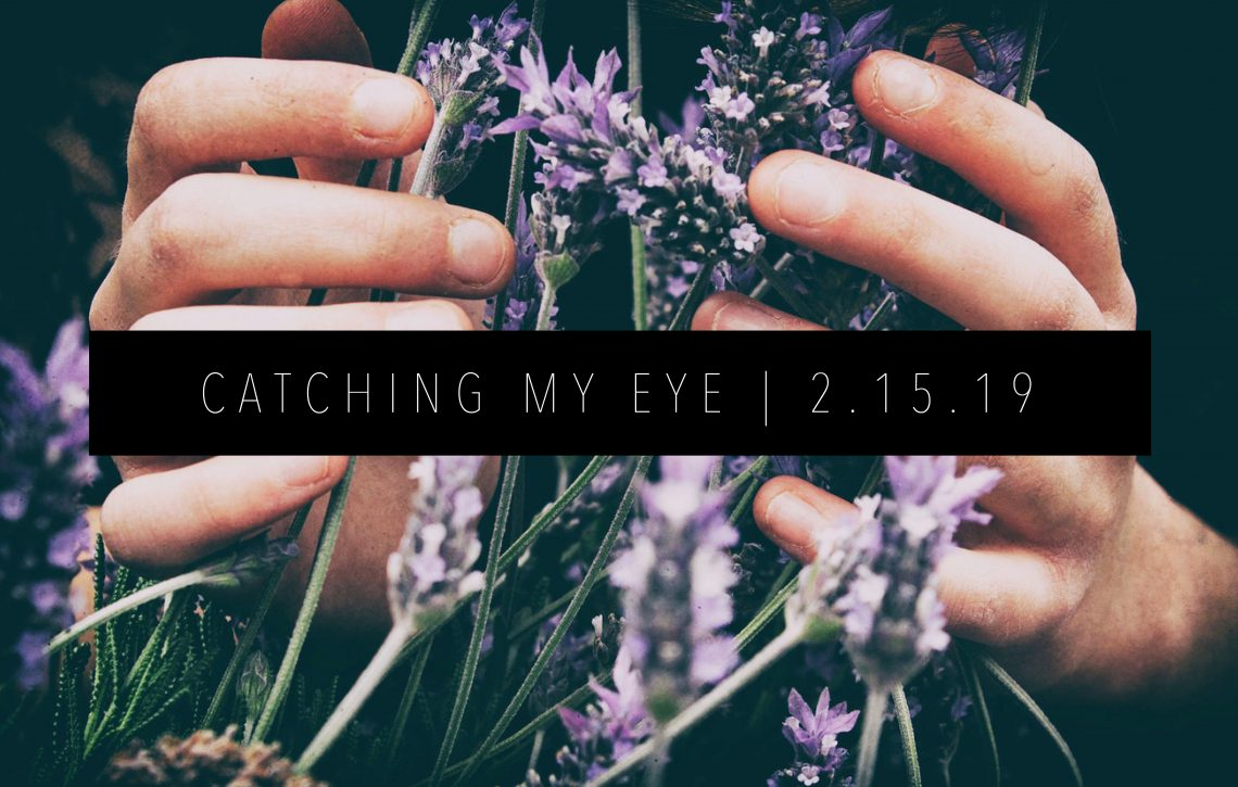 CATCHING MY EYE 2.15.19 FEATURED IMAGE