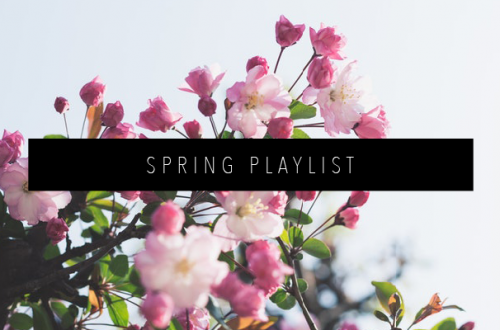 SPRING PLAYLIST FEATURED IMAGE
