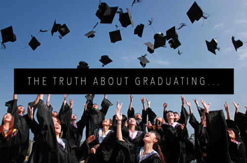 THE TRUTH ABOUT GRADUATING FEATURED IMAGE