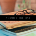 summer TBR LIST FEATURED IMAGE