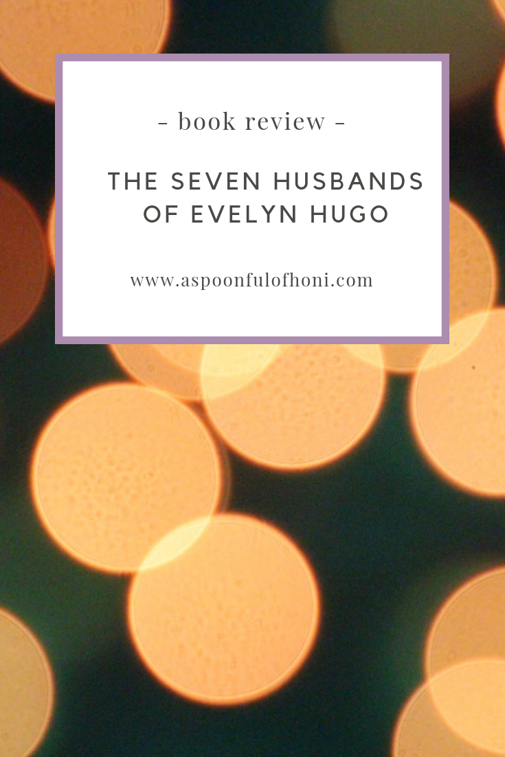 the seven husbands of evelyn hugo pinterest graphic
