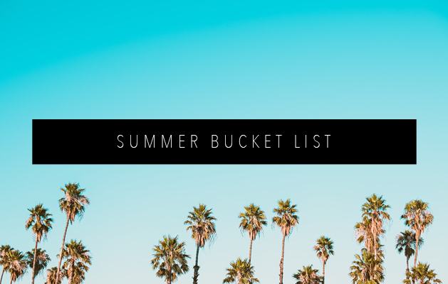 SUMMER BUCKET LIST FEATURED IMAGE
