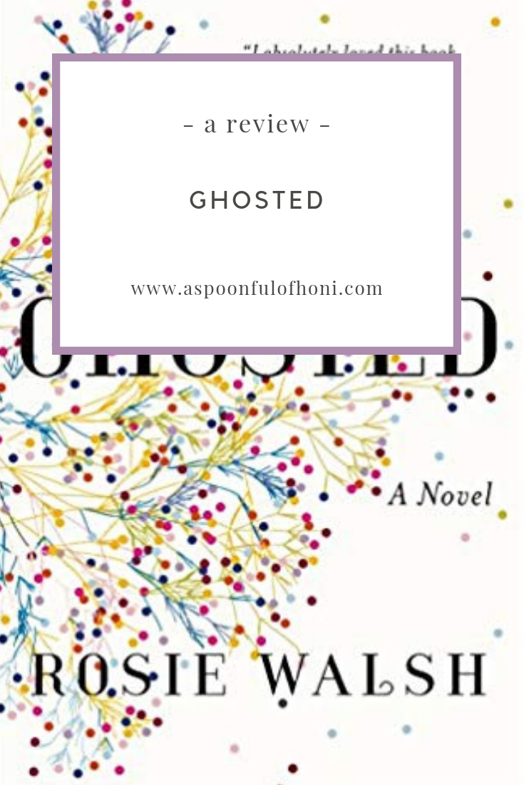 ghosted a book review pinterest graphic