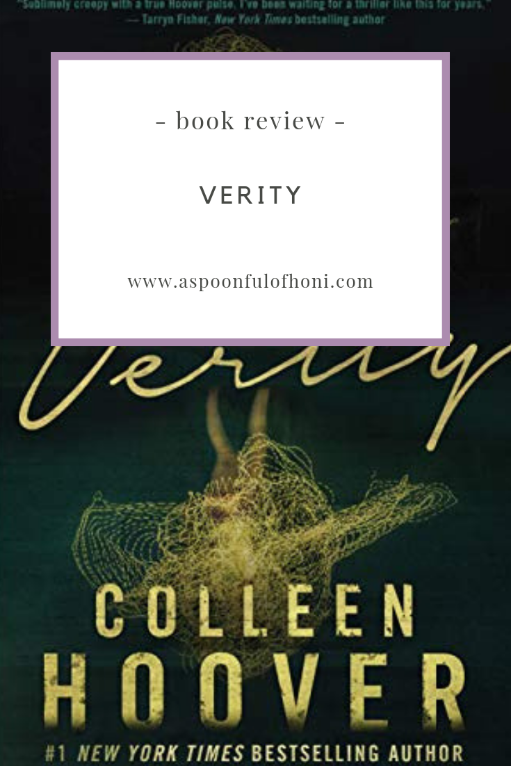 verity book review pinterest graphic