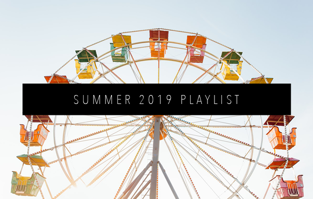 SUMMER 2019 PLAYLIST FEATURED IMAGE