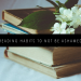 TOP 10 READING HABITS TO NOT BE ASHAMED OF FEATURED IMAGE