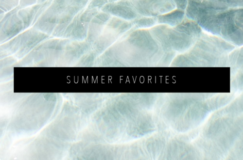 SUMMER FAVORITES FEATURED IMAGE