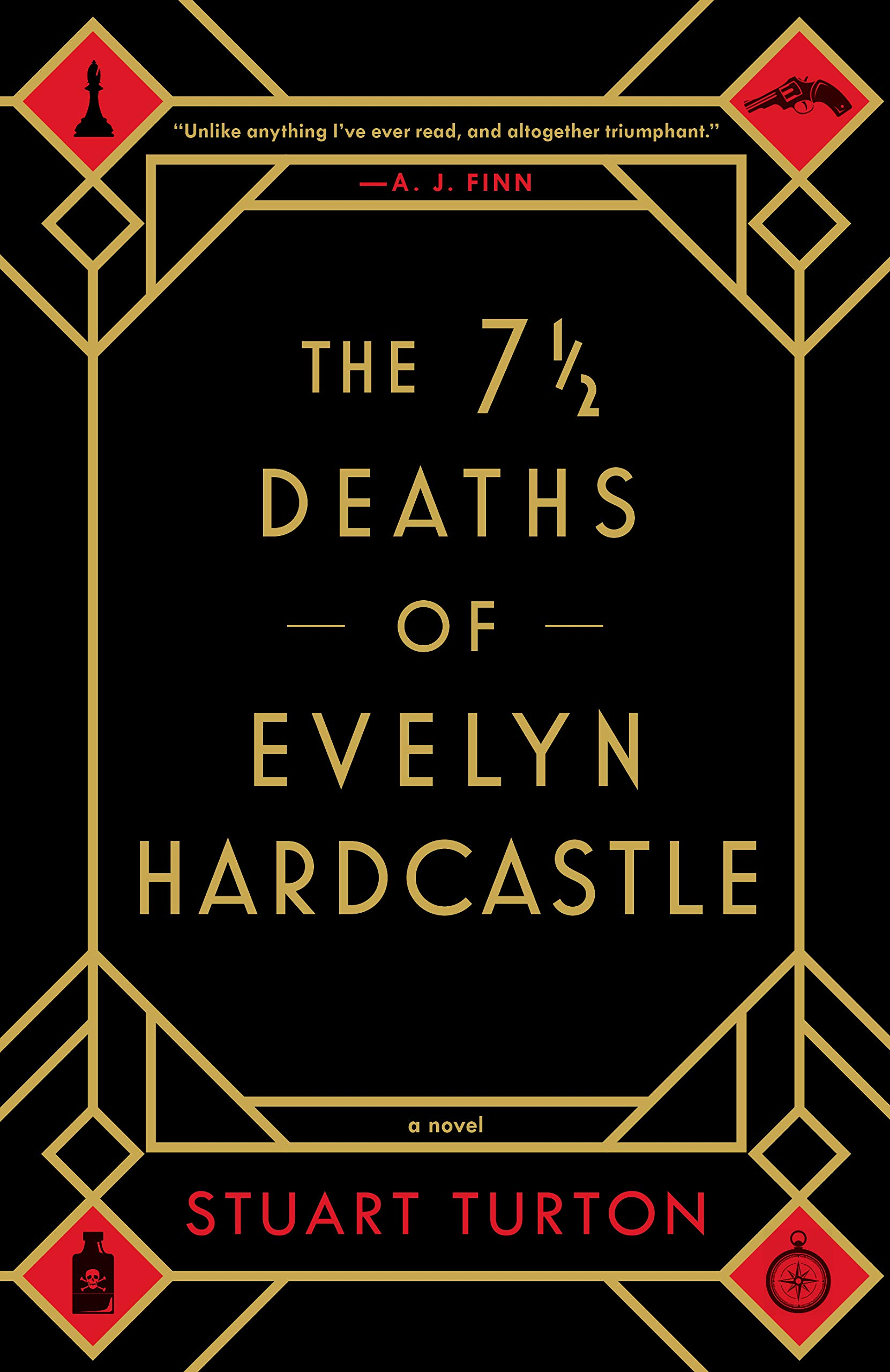 The 7 1/2 Deaths of Evelyn Hardcastle Fall TBR List