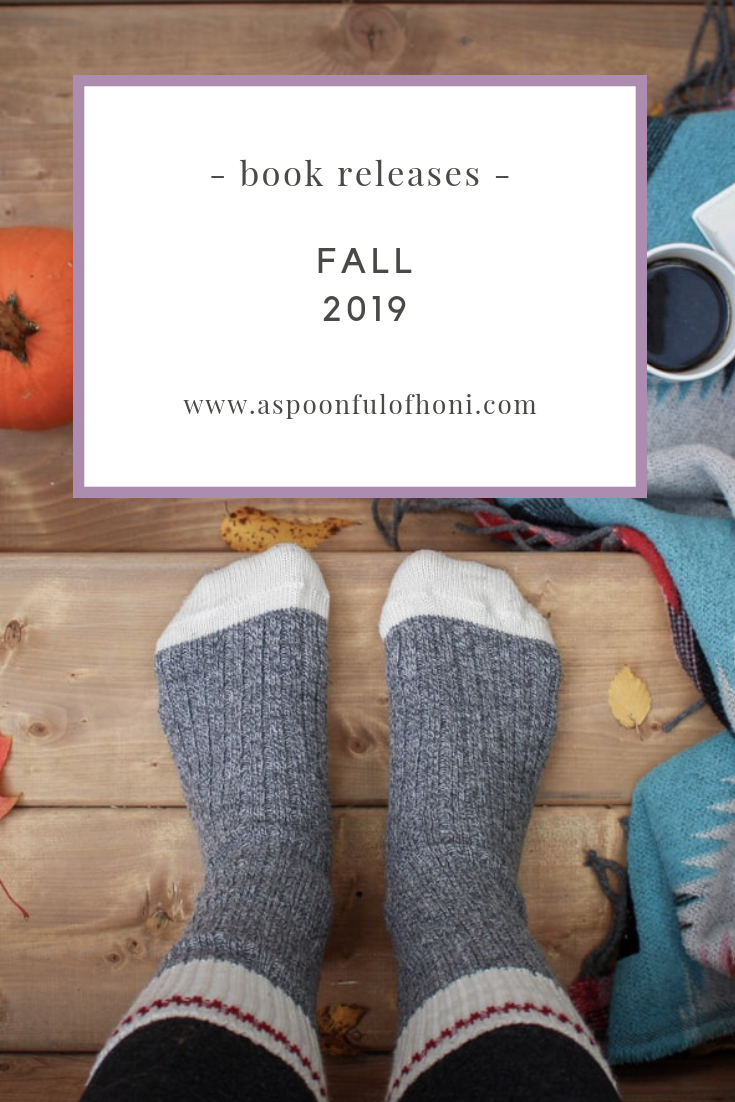 fall 2019 book releases pinterest graphic