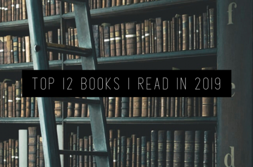 top 12 books i read in 2019