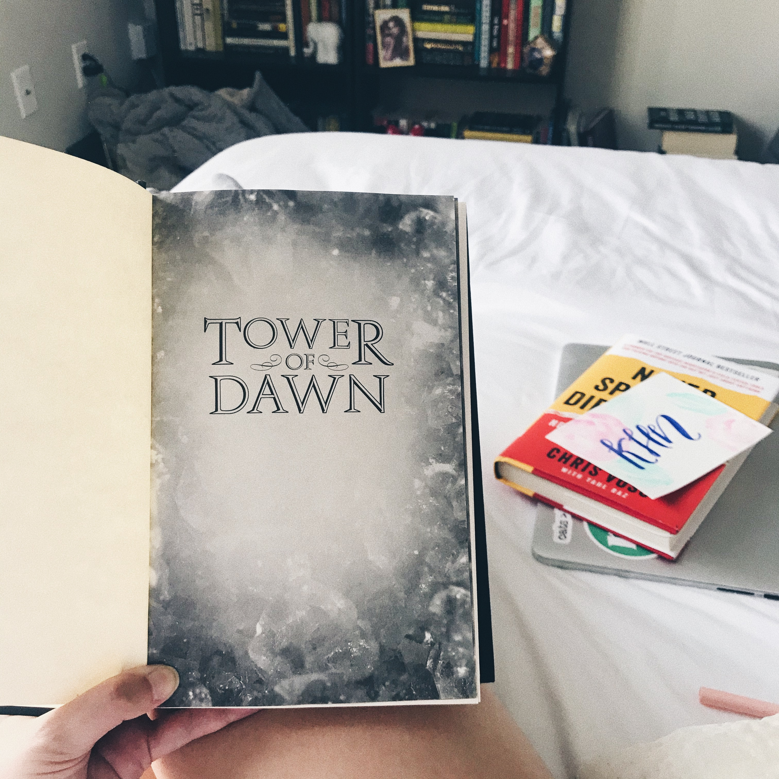 Books I Read in May Tower of Dawn