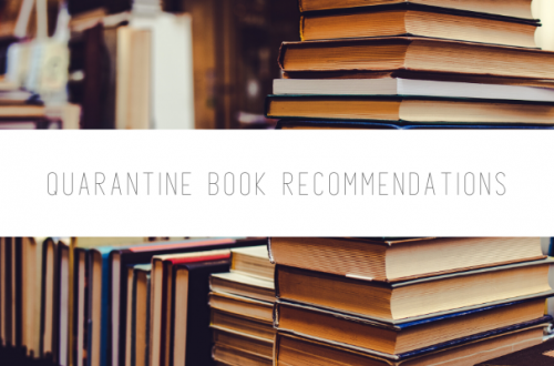 Quarantine Book Recommendations